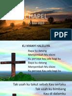 Chapel Osis PAT