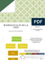 Biomoleculas de la vida UIS