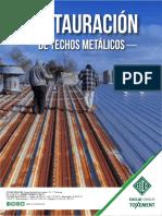Restauracion de techos metalicos