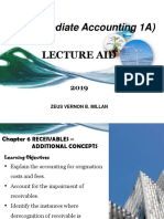 Chapter 6 Receivables - Additional Concepts