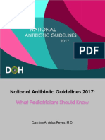 National Antibiotic pedia guidelines