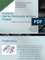 Presentacion Red de Distribucion de Agua