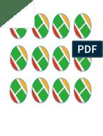 Logo Bulat Name Tag