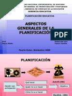 El Proceso de La Planificacin