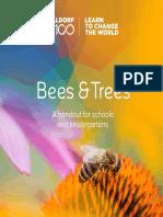 Bees Trees Booklet En