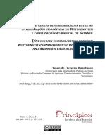 Magalhães (2017) - Sobre Certas Dissimilaridades Enre as Investigações Filosóficas de Wittgensteins e o Behaviorismo Radical de Skinner