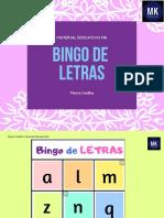 Bingo de Letras Min