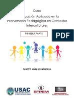 Investigación Aplicada en la Intervención Pedagógica en Contextos Interculturales 1