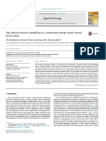 Resource Schedulling of a Renewable Energy Based Virtual Power Plant