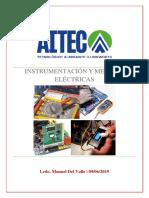 Instrumentación y Medidas Eléctricas