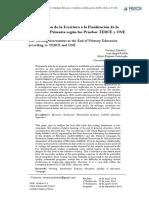 Evaluacion de La Escritura en Pruebas Internacionales