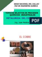 PROCESO DE PRODUCCION DE COBRE