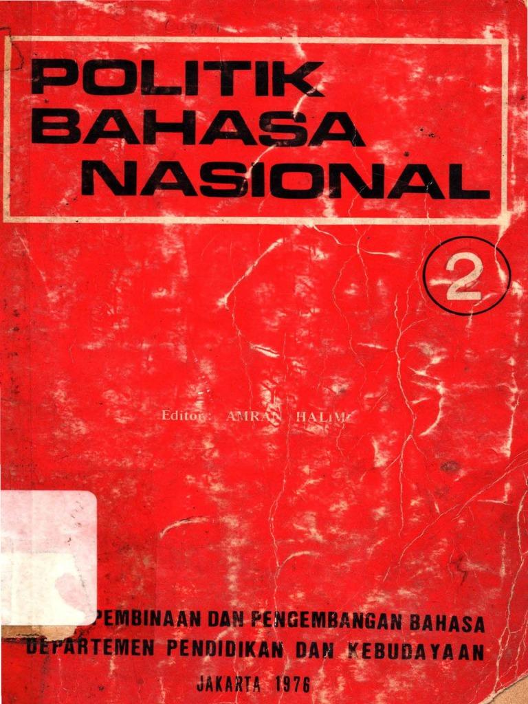 Politik Bahasa Nasional pdf