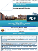 CO PO Attainment and Mapping