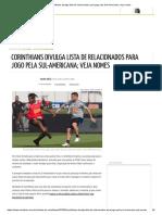 Corinthians Materia