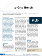 The Close-Grip Bench Press
