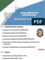 Aula 1_Nivelamento Cinesiologia
