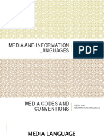 media and information