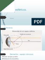 PPT 13.-Espejos Esféricos (Aplicaciones)