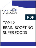 Top 12 Brain Boosting Foods
