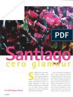 Santiago, Cero Glamour