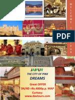 Locations of Jaipur