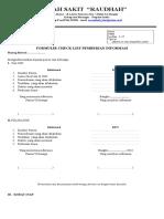 Form Informasi Hpk