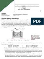Guía Electroquímica 4tos Medios