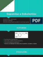 Dopamina e Dobutamina