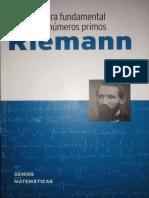 Riemann (La conjetura fundamental sobre los números primos)