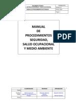 Manual Procedimientos de Trabajo Seguro