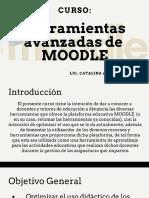 Curso Moodle herramientas avanzadas