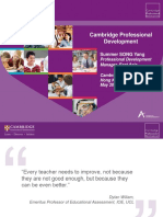 379421 Professional Development Document