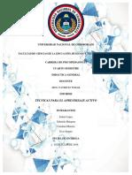 Dg-Informe Técnicas Aprendizaje Activo