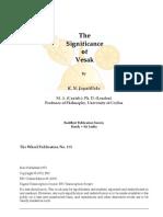 Significance of Vesak