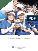Study Abroad at Yonsei 2018