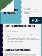 Disposición de Planta PPT PC3