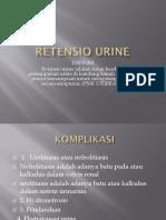 Retensio Urine 1