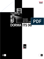 Brochure DORMA ITS96 Concealed Door Closer