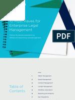 10 Must Haves for Enterprise Legal Management eBook