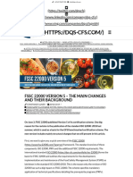 FSSC Harmonisation 2018