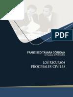 4. los recursos procesales civiles (212) - francisco távara córdova.pdf