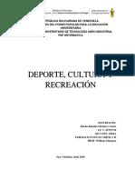 Fmsc- Deporte, Culturay Recreacion