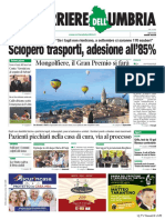 Rassegna stampa dell'Umbria giovedì 25 luglio 2019 UjTV News24 LIVE