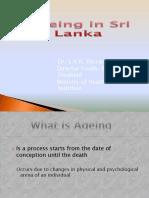 Ageing in Sri Lanka - Updated