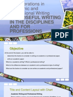 14. Considerations in Academic and Professional Writing