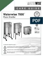 7000 Distiller Manual
