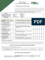 Training Evaluation Form v.3
