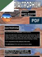 Diastrophism