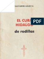 El Cura Hidalgo de Rodillas
